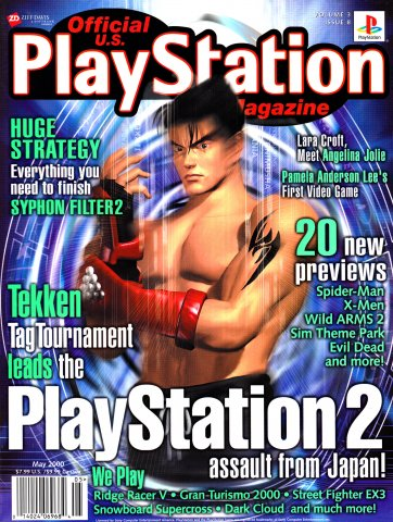 Official U.S. Playstation Magazine Issue 032 May 2000