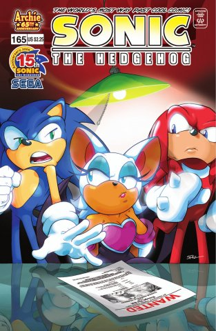 Sonic the Hedgehog 165 (October 2006)