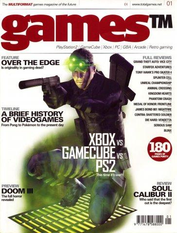 Games TM Issue 001 (December 2002)