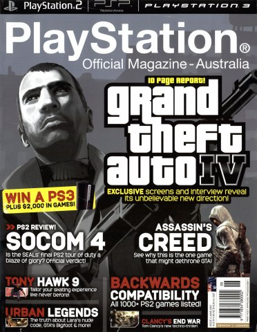 PlayStation Official Magazine Issue 004 (June 2007)