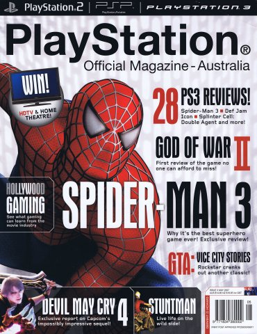 PlayStation Official Magazine Issue 003 (May 2007)