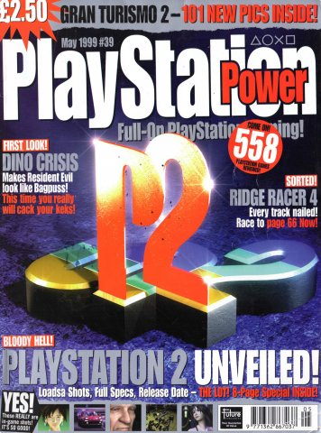 PlayStation Power Issue 39 (May 1999)