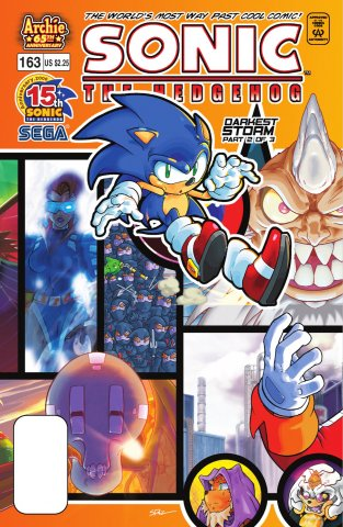 Sonic the Hedgehog 163 (August 2006)
