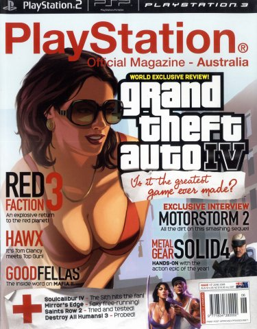 PlayStation Official Magazine Issue 017 (June 2008)