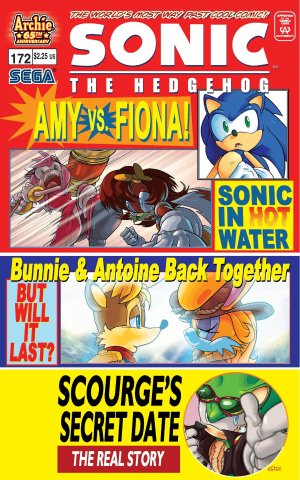 Sonic the Hedgehog 172 (April 2007)