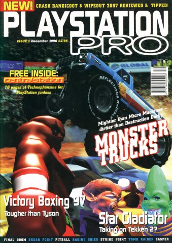 PlayStation Pro Issue 01 (December 1996)