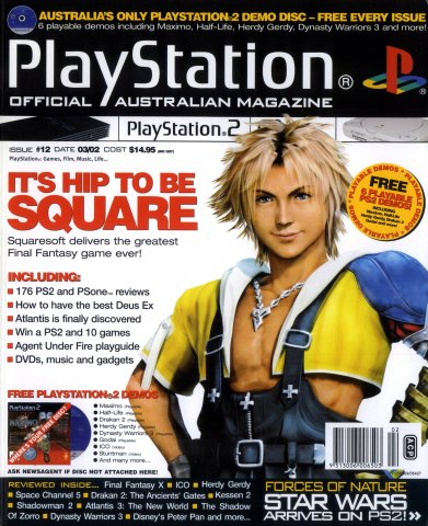 Playstation 2 Official Magazine (AUS) Issue 12 (March 2002)