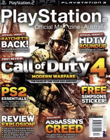 PlayStation Official Magazine Issue 010 (December 2007)