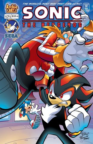 Sonic the Hedgehog 171 (March 2007)