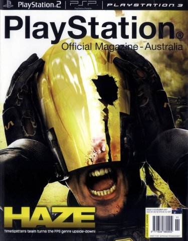 PlayStation Official Magazine Issue 009 (November 2007)
