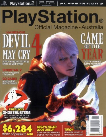 PlayStation Official Magazine Issue 012 (January 2008)