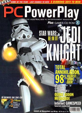PC PowerPlay 018 (November 1997)