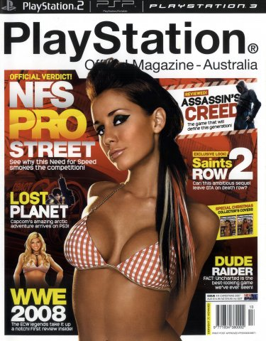 PlayStation Official Magazine Issue 011 (Christmas 2007)