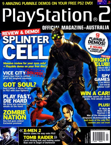 Playstation 2 Official Magazine (AUS) Issue 13 (April 2003)