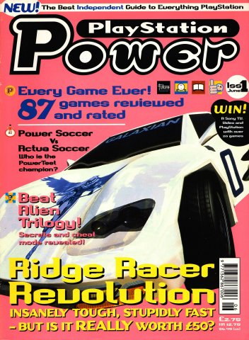 PlayStation Power Issue 01 (June 1996)