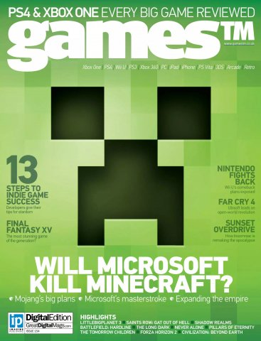 Games TM Issue 154 (November 2014)