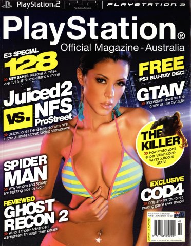 PlayStation Official Magazine Issue 007 (September 2007)