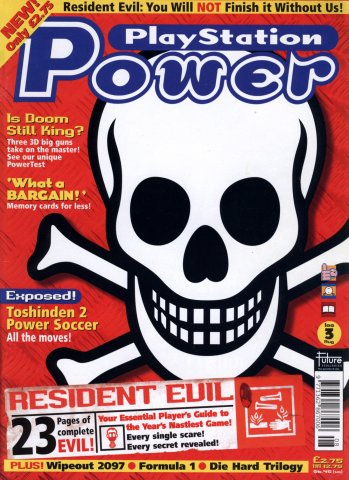 PlayStation Power Issue 03 (August 1996)