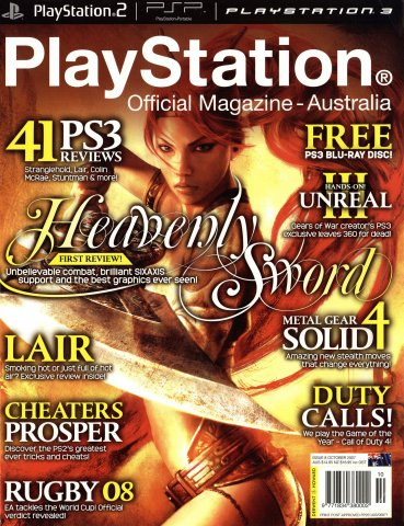 PlayStation Official Magazine Issue 008 (October 2007)