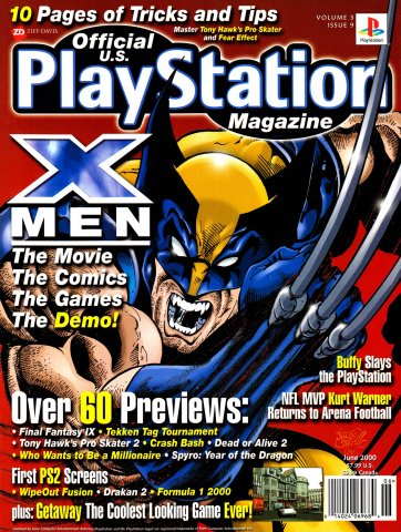 Official U.S. PlayStation Magazine Issue 033 Volume 3 Issue 9 (June 2000)