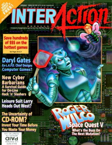 InterAction Issue 17 (Volume 6 Number 1) Spring 1993