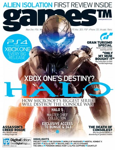 Games TM Issue 153 (October 2014)