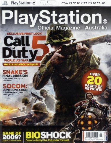 PlayStation Official Magazine Issue 019 (August 2008)
