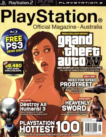 PlayStation Official Magazine Issue 006 (August 2007)