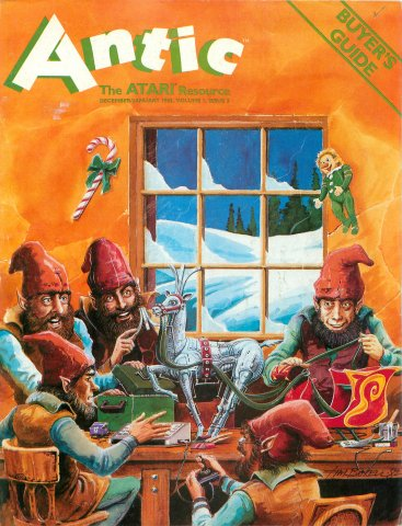 Antic Issue 005 December/January 1982