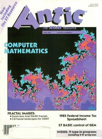Antic Issue 042 April 1986