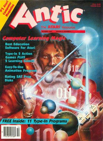 Antic Issue 024 October 1984