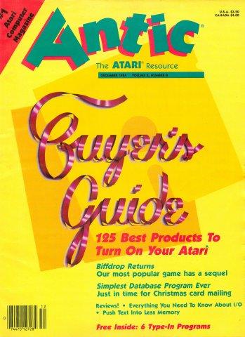 Antic Issue 026 December 1984