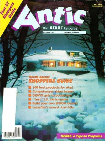Antic Issue 038 December 1985