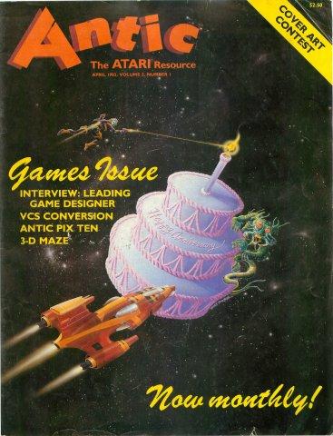 Antic Issue 007 April 1983