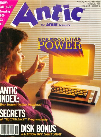 Antic Issue 076 February 1989