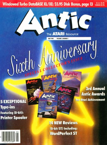 Antic Issue 067 May 1988