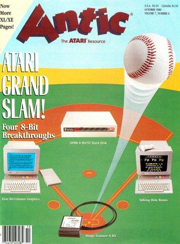 Antic Issue 072 October 1988