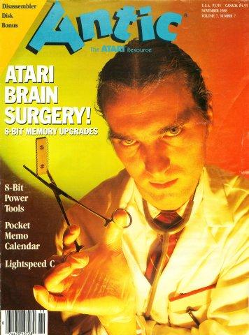 Antic Issue 073 November 1988