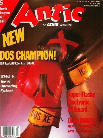 Antic Issue 077 March 1989