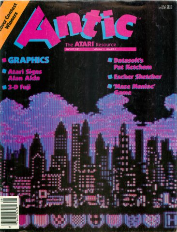 Antic Issue 011 August 1983