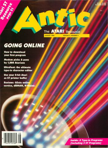Antic Issue 046 August 1986