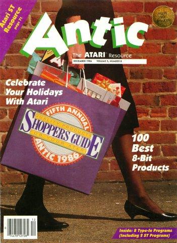 Antic Issue 050 December 1986