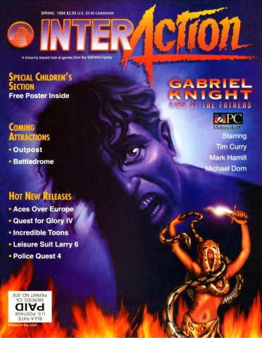 InterAction Issue 20 (Volume 6 Number 4) Spring 1994