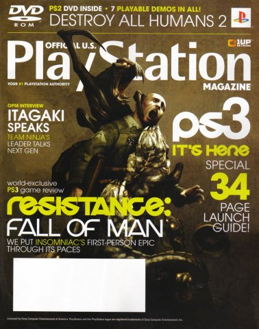 Official U.S. Playstation Magazine Issue 111 (December 2006)