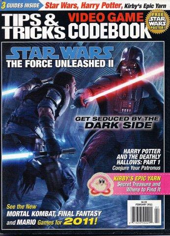Tips & Tricks Video Game Codebook February 2011