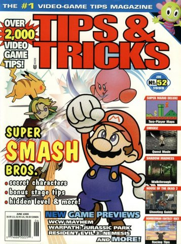 Tips & Tricks Issue 052 June 1999