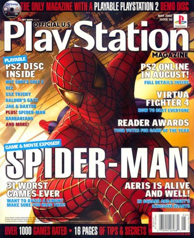 Official U.S. PlayStation Magazine Issue 056 (May 2002)