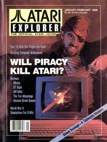 Atari Explorer Issue 12 (January / February 1988)