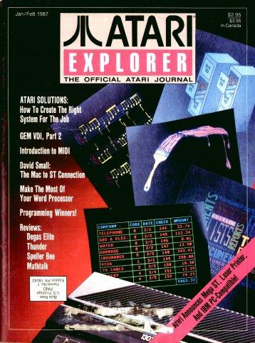Atari Explorer Issue 07 (January / February 1987)