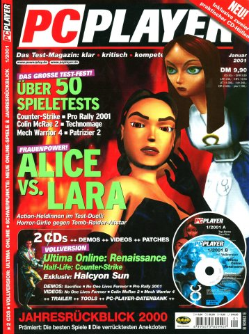 PC Player January 2001